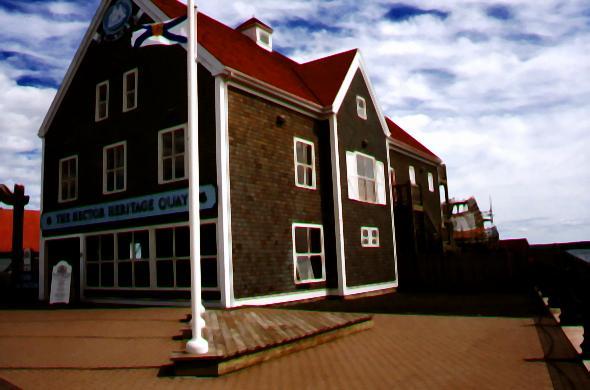 Exterior of the Interpretive Centre